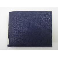 China Simple And Fashion Mens Front Pocket Wallet 11.7 * 9.2 Cm Contrast Texture wholesale