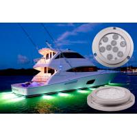 China Waterproof Boat Underwater LED Lights , Blutooth Control 27W LED Marine Lights wholesale