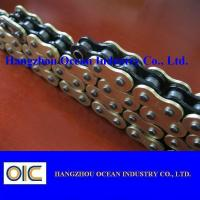 Custom 520 X Ring Motorcycle Chain With Black Inside Yellow Outerside Manufactures