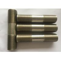 China High Precision Duplex Stainless Steel Fasteners 254 SMO 1.4547 6Mo Hex Bolt wholesale