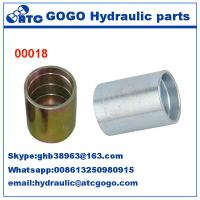 China Hose Fitting Ferrules Quick Connect Hose Fittings With Cr+3 / Cr+6 Zinc Plating wholesale