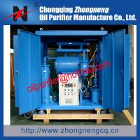 China 10KV to 110KV Transformer Oil Purifier Machine, Dielectric Oil Filtering Unit wholesale