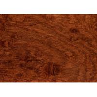China Non - Deforming Square Edge Hardwood Flooring Good Heat And Sound Insulation wholesale
