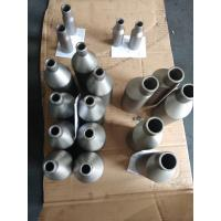 China Silver Color Titanium Alloy Pipe Reducer Welded Seamless Surface Finished wholesale
