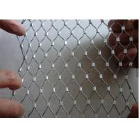 China Flexible Stainless Steel Rope Wire Zoo Mesh, Decorative Cable Mesh Netting Fabric on sale