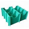 China Green Heat Resistance Waterproof Plastic Divider Sheets Coroplast Divider Board wholesale