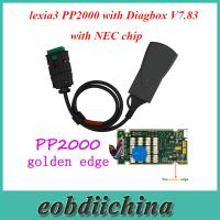 China Lite Version lexia3 PP2000 with Diagbox V7.83 Software for Citroen/Peugeot with NEC chip wholesale