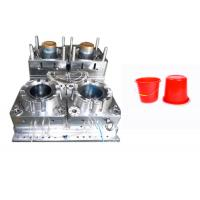China PP PA ABS Plastic Bucket Mould Cold Runner Multi Cavity High Hardness Long Life Time wholesale