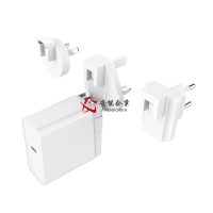 China 45W Detachable Plug Type-C Port PD Power Supply 15V, 20V, 5V, 9V USB C Quick Wall Travel Mobile Phone Portable Chargers wholesale