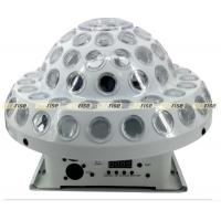 China DMX512 Crystal Magic Ball Stage Light Dj Light Bar 6x3W 12CH 220x220mm wholesale