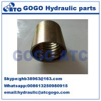 China Fully stocked hydraulic Quick Connect Hose Fittings ferrules 100 R2AT/DIN 20022 2SN wholesale