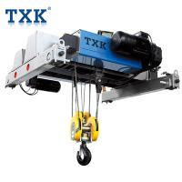 China TXK 3.2 Ton Electric Wire Rope Hoist With Nord Traveling Motor , European Design Single Phase Hoist wholesale