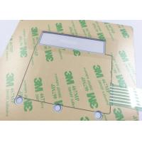 Embossed Tactile Button Warterrpoof Membrane Switch With 3M Adhesive