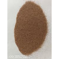China Sharp And Effective Water Jet Cutting Garnet Sand Pink Color For Glass Cutting wholesale