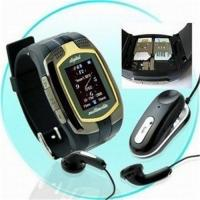 China Dual sim card duanl standby watch phone---M860  With stereo bluetooth headset and 1GB card wholesale