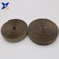 China Pure silver plated conductive nylon hook and loop tape shielding electromagnetic wave radiation 20mm ribbon XTAA072 wholesale