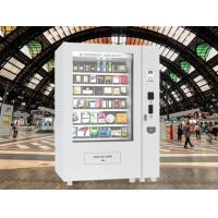 China Chocolate Bar Cola Mix Selling Food Vending Machine Kiosk With Touch Screen wholesale