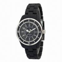 China Sports Watch with High-quality Smooth Plastic Case and Strap, Alloy Bezel, Price Discount off 30% wholesale