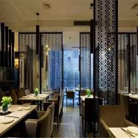 Buy cheap 304 201 brass perforated sheet stainless steel screen for resturant room divider from wholesalers
