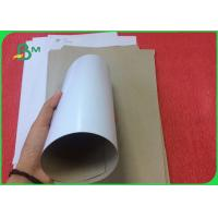 China Good Stiffness 400g Coated Duplex Board With White Back In Sheet Or In Roll on sale