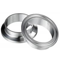 China Stainless Steel Ferrule Adaptor SS304 SS316L Sanitary Tri Clamp Pipe Fittings wholesale