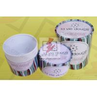 China Round Food Packaging Containers / Cardboard Cylinder Boxes Packaging on sale