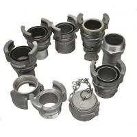 China Aluminium Guillemin Coupling / French Coupling With Thread ISO Approved on sale