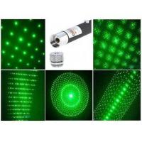 China 50mw Green Laser Pointer pen type with 5 Projector Caps wholesale