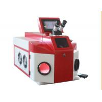 China 100W 80J Laser Welding Systems / Laser Soldering Machine For Jewellery wholesale