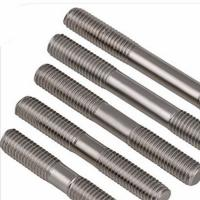 China 3/8 White Zinc Plated DIN976 Double End Threaded Rod Preventing Corrosion Convenient Use wholesale