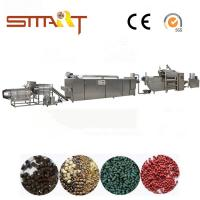 China 120-150kg / Hr Pet Food Extruder Machine Electric Power Automatic Fish Feed Machine on sale