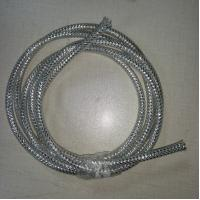 China Silver Round Flexible Wire Mesh Sleeve For Gifts / Lights Decoration Accessories wholesale