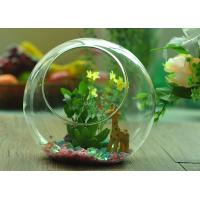 Gift Hanging Teardrop Tealight Holder / Hanging Glass Terrarium Containers