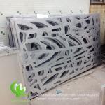 China Tree aluminium veneer sheet metal facade cladding bending sheet 2.5mm thickness for curtain wall facade decoration wholesale