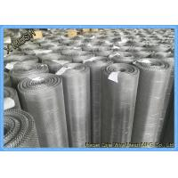 China Ultra Fine Stainless Steel Woven Wire Mesh Sheets , 316L 30 Micron Woven Wire Cloth wholesale
