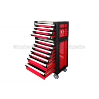 China 11 Drawer Trolley Mechanics red husky rolling tool box Tool Chest wholesale