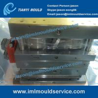 China PP thin wall plastic containers with lids mould, thin wall lid mould with in mould label wholesale