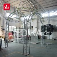 Buy cheap TUV 290 Lighting Aluminum Roof Truss Tower for Wedding Backdrop Decoration from wholesalers
