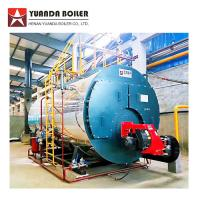 China Industrial Low Pressure Fire Tube 4 Ton Bunker Oil Steam Boiler for Carton Factory wholesale