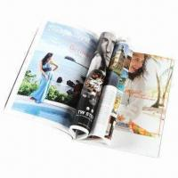 China Monthly Magazine Printing Service, Available in Various Finish wholesale
