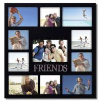 China Friends Wood Collage Wall Hanging Decor Picture Frame Teen Dorm Graduation Gift wholesale
