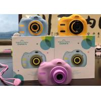 China Built - In 3.7V  Lithium Battery Rechargeable Kids Camera For 8 Year Old Child wholesale
