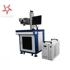 0.01 Mm Line Width UV Laser Marking Machine Permanent Printing 355 Nm Laser Beam