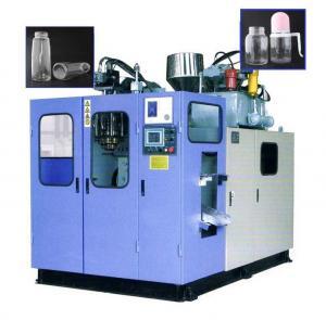China 100-2000ml Small Plastic Bottle Making Machine , Semi Automatic PET Bottle Blowing Machine wholesale