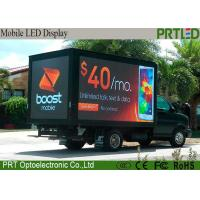 China Commercial Advertising Mobile Digital Billboard P8 LED Box 2 Years Warranty wholesale