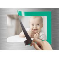 China 4'' X 6'' Photo Print Fridge Magnet , Personalized Magnetic Picture Frames wholesale