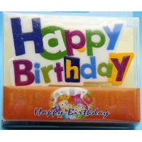 China Colorful Alphabet Letter Birthday Candles For Party Decoration SGS Approval wholesale
