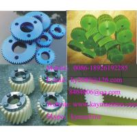 China Engineering Plastics Herringbone gears Worm wheel Spur gear for paper converting wholesale