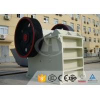 China AC Motor Jaw Crusher Equipment PE-400×600 For Steel Mills , Power Plants wholesale
