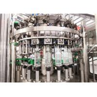 China Carbonated Aerated Water Glass Bottle Filling Machine For Carbonated Drink Production Line wholesale